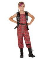 Child 90s Punk Rocker Costume