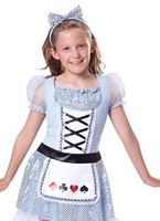 Child Alice Card Girl Costume