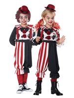 Child & Toddler Kreepy Klown Kid Costume