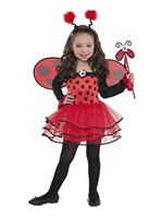 Child Ballerina Ladybug Costume