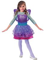 Child Barbie Rainbow Fairy Costume