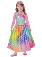 Child Barbie Rainbow Magic Costume
