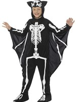 Child Bat Skeleton Costume