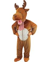 Child Big Head Reindeer Costume