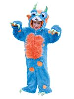 Child Blue Monster Costume