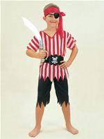 Child Budget Pirate Boy Costume [CC390]