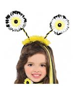 Child Bumble Bee Fairy Head Boppers [842030-55]