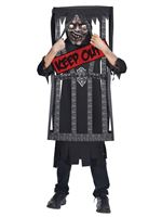 Child Caged Reaper Costume