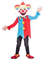 Child Carnival Clown Big Head Costume