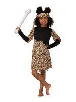 Child Cave Girl Costume