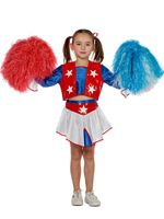 Child Cheerleader Costume [3595]