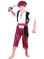 Child Pirate Boy Jim Costume