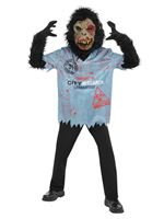 Child Chimp Zombie Costume
