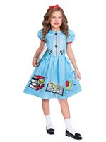 Child Clever Little Bookworm Matilda Costume