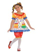 Child Clown Dress