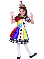 Child Clown Princess Costume