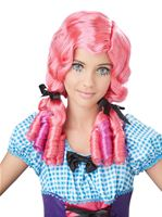 Child Coral Doll Curls Wig