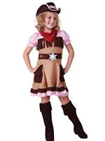 Child Cowgirl Cutie Costume