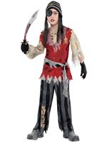 Child Cutthroat Pirate Corpse Costume [9902465]