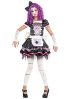 Child Damaged Doll Costume