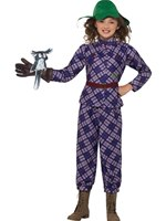 Child David Walliams Deluxe Awful Auntie Costume