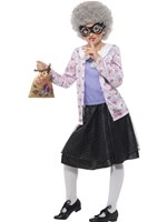 Child David Walliams Deluxe Gangsta Granny Costume