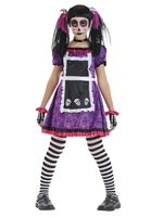 Child Day of the Dead Doll Costume [5143262]