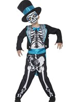 Child Day of the Dead Groom Costume [44929]