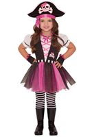 Child Dazzling Pirate Costume [999697]