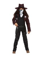 Child Deluxe Dark Spirit Western Cowgirl Costume