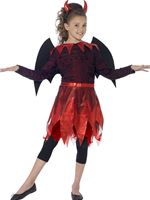 Child Deluxe Devilish Costume