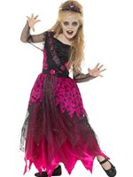 Child Deluxe Gothic Prom Queen Costume