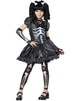 Skeleton Girl Children's Costume
