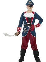 Child Deluxe Pirate Captain Costume [21891]