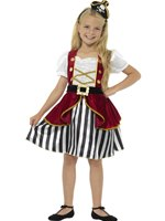 Child Deluxe Pirate Girl Costume