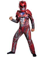 Child Deluxe Red Ranger Costume [DG19073]