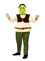 Child Deluxe Shrek Costume