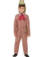 Child Deluxe Wind in the Willows Toad Costume [48781]