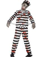 Child Zombie Convict Costume