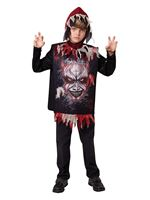 Child Devil Tabard & Hood