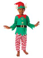 Child Elf Boy Costume [995057]