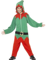Childrens Elf Onesie Costume