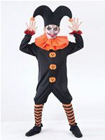 Child Evil Jester Costume