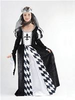 Child Chess Queen Costume