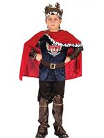 Child Fantasy Medieval King Costume