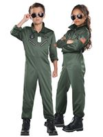 Child Fighter Pilot Costume