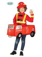 Child Fire Brigade Car Costume [88415]