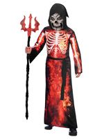 Child Fire Reaper Costume