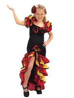 Child Rumba Girl Costume