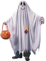 Child Friendly Ghost Costume [9705]